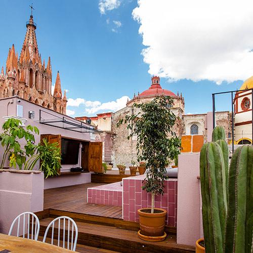 HOTELES EN SAN MIGUEL ALLENDE BARATOS ECONÓMICOS